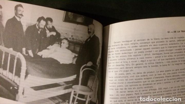 Libros de segunda mano: JACINT VERDAGUER-PRÍNCEP DELS POETES CATALANS-JOSEP M. GARRUT-AJUNTAMENT DE BARCELONA-1977 - Foto 5 - 144654650