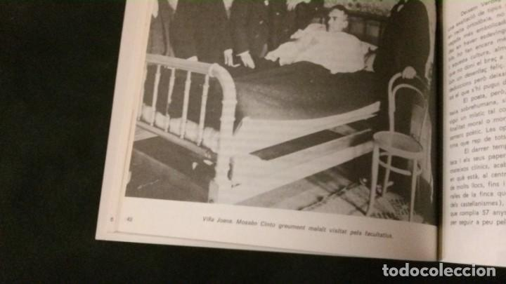 Libros de segunda mano: JACINT VERDAGUER-PRÍNCEP DELS POETES CATALANS-JOSEP M. GARRUT-AJUNTAMENT DE BARCELONA-1977 - Foto 6 - 144654650