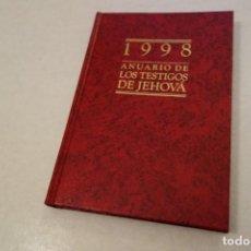 Libros de segunda mano: 1998 ANUARIO DE LOS TESTIGOS DE JEHOVÁ.. Lote 144779682