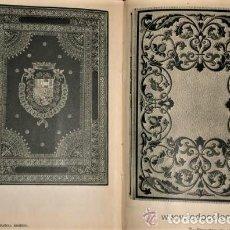 Libros de segunda mano: LIBRO BIBLIOTECA DE PALACIO,ENCUADERNACIONES,AÑO1950 DE NIVEL INCUNABLES,OBRAS DE ARTE,BIBLIOFILO. Lote 144829562
