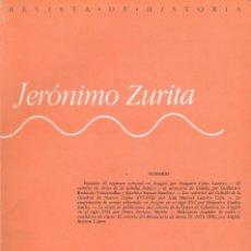 Libros de segunda mano: REVISTA DE HISTORIA JERÓNIMO ZURITA, Nº 58 (1988). Lote 144833950