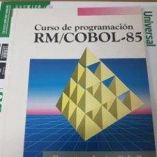 Libros de segunda mano: CURSO PROGRAMACION RM COBOL 85. Lote 182809826