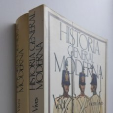 Libros de segunda mano: HISTORIA GENERAL MODERNA TOMOS I Y II - VICENS VIVES, JAIME. Lote 145060620