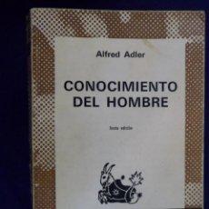 Libros de segunda mano: CONOCIMIENTO DEL HOMBRE. ALFRED ADLER. ESPASA-CALPE. AUSTRAL. Lote 195366581