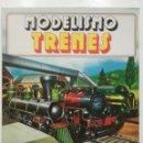 Libros de segunda mano: MODELISMO TRENES - EDICIONES PLESA / SM - 1983. Lote 145131098