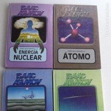 Livros em segunda mão: LOTE 4 LIBROS COLECCIÓN CÓMO DESCUBRIMOS...DE ISAAC ASIMOV. EDITORIAL MOLINO 1984. Lote 145167894