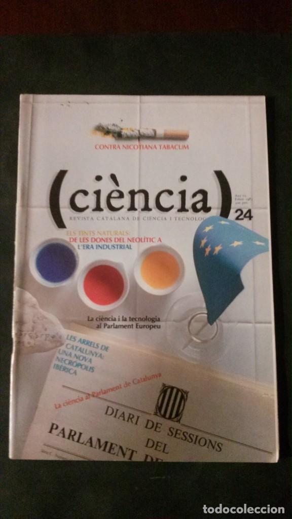 CIÈNCIA-REVISTA CATALANA DE CIÈNCIA I TECNOLOGIA-Nº 24-1983 (Libros de Segunda Mano - Ciencias, Manuales y Oficios - Otros)