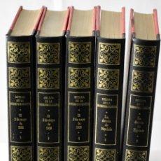 Libros de segunda mano: GUERRA DE LA INDEPENDENCIA EN 5 TOMOS. CONDE DE TORENO. Lote 145237466