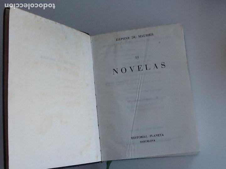 Libros de segunda mano: Daphne de maurier. Novelas, tomo II. Editorial Planeta. Primera edición 1959 - Foto 2 - 145254030
