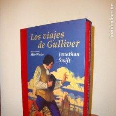 Libros de segunda mano: LOS VIAJES DE GULLIVER - JONATHAN SWIFT, MILO WINTER (ILUST.) - EDHASA, COMO NUEVO. Lote 145366838