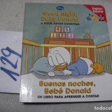 Libros de segunda mano: LIBRO CUENTO DISNEY INGLES ESPAÑOL - ENVIO INCLUIDO A ESPAÑA. Lote 145425598