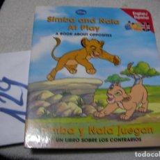 Libros de segunda mano: LIBRO CUENTO DISNEY INGLES ESPAÑOL - ENVIO INCLUIDO A ESPAÑA. Lote 145427722