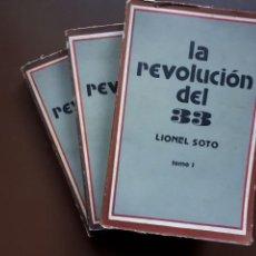 Libri di seconda mano: LA REVOLUCIÓN DEL 33 - LIONEL SOTO - LA HABANA 1977. Lote 145440158