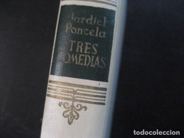 Libros de segunda mano: enrique jardiel poncela tres comedias escogidas aguilar 1955 - Foto 2 - 145439954
