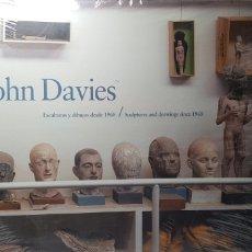 Libros de segunda mano: JOHN DAVIES.ESCULTURAS Y DIBUJOS DESDE 1968.. Lote 145535058