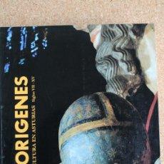 Libros de segunda mano: ORÍGENES. ARTE Y CULTURA EN ASTURIAS. SIGLOS VII-XV. BARCELONA, LUNWERG EDITORES, 1993.. Lote 145543474