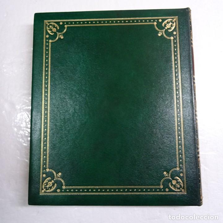 Libros de segunda mano: ESPAÑA MISTICA ORTIZ ECHAGÜE. MAGNIFICA ENCUADERNACION GRAN LUJO PLENA PIEL MOSAICO HIERROS DORADOS - Foto 2 - 145622454