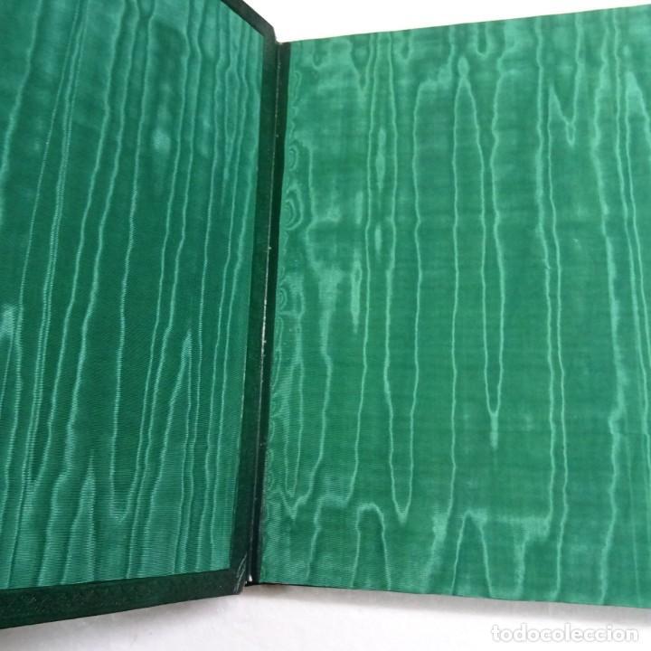 Libros de segunda mano: ESPAÑA MISTICA ORTIZ ECHAGÜE. MAGNIFICA ENCUADERNACION GRAN LUJO PLENA PIEL MOSAICO HIERROS DORADOS - Foto 5 - 145622454