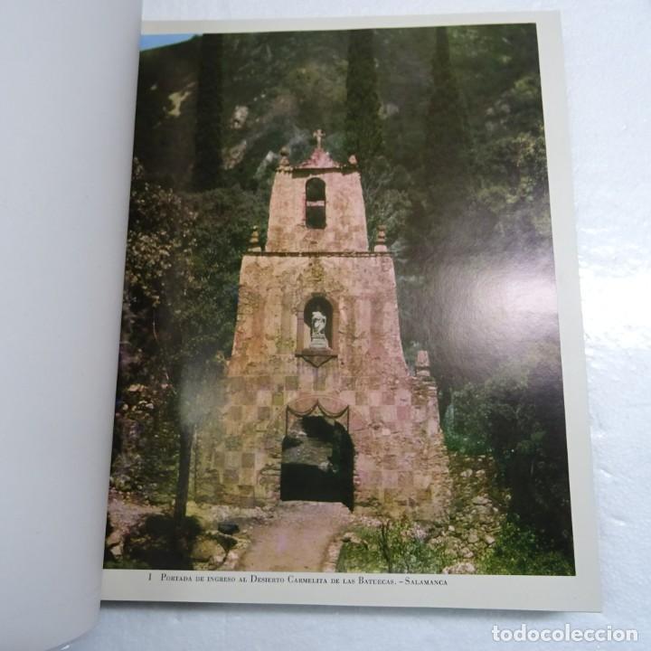 Libros de segunda mano: ESPAÑA MISTICA ORTIZ ECHAGÜE. MAGNIFICA ENCUADERNACION GRAN LUJO PLENA PIEL MOSAICO HIERROS DORADOS - Foto 7 - 145622454