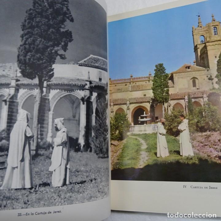 Libros de segunda mano: ESPAÑA MISTICA ORTIZ ECHAGÜE. MAGNIFICA ENCUADERNACION GRAN LUJO PLENA PIEL MOSAICO HIERROS DORADOS - Foto 8 - 145622454