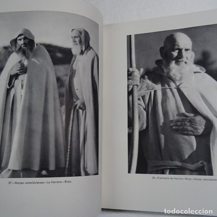 Libros de segunda mano: ESPAÑA MISTICA ORTIZ ECHAGÜE. MAGNIFICA ENCUADERNACION GRAN LUJO PLENA PIEL MOSAICO HIERROS DORADOS - Foto 9 - 145622454