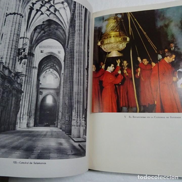 Libros de segunda mano: ESPAÑA MISTICA ORTIZ ECHAGÜE. MAGNIFICA ENCUADERNACION GRAN LUJO PLENA PIEL MOSAICO HIERROS DORADOS - Foto 10 - 145622454