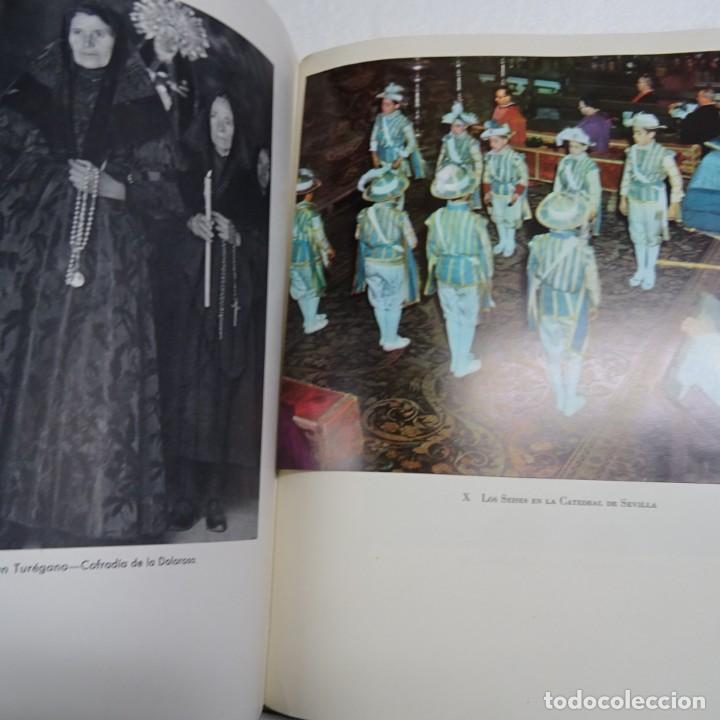 Libros de segunda mano: ESPAÑA MISTICA ORTIZ ECHAGÜE. MAGNIFICA ENCUADERNACION GRAN LUJO PLENA PIEL MOSAICO HIERROS DORADOS - Foto 15 - 145622454
