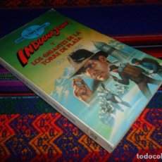 Libros de segunda mano: ESCOGE TU PROPIA AVENTURA Nº 3 INDIANA JONES Y LOS GIGANTES DE LA TORRE DE PLATA. TORAY 1984. . Lote 145633722