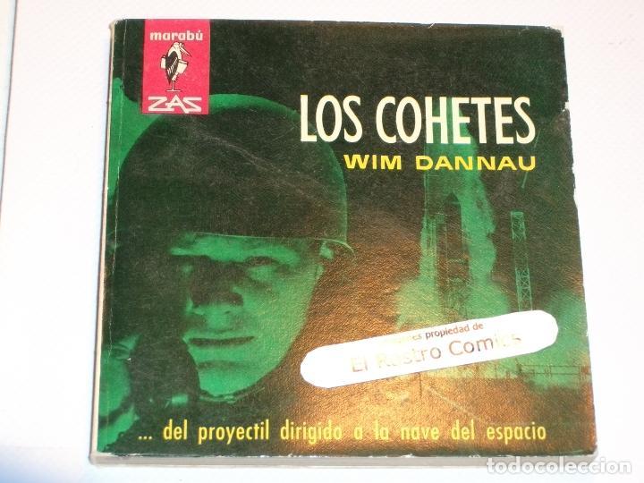MARABÚ ZAS Nº 22, LOS COHETES, BRUGUERA 1962, ERCOM B5 (Libros de Segunda Mano - Ciencias, Manuales y Oficios - Otros)