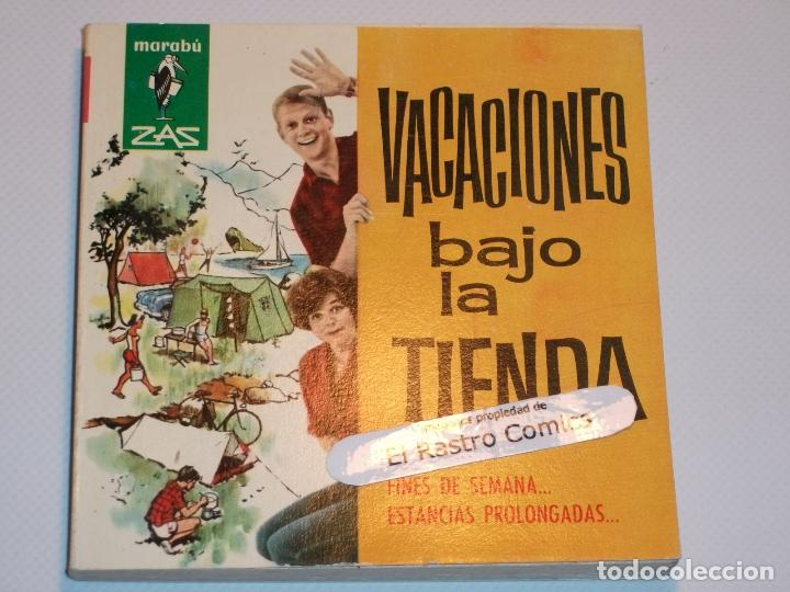 MARABÚ ZAS Nº 32, VACACIONES BAJO LA TIENDA, BRUGUERA 1962, ERCOM B5 (Libros de Segunda Mano - Ciencias, Manuales y Oficios - Otros)