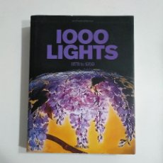 Libros de segunda mano: 1000 LIGHTS. 1878 TO 1959. LAMPARAS. TASCHEN. TDK338. Lote 145753082