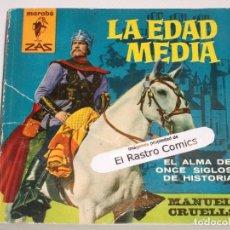Livres d'occasion: MARABÚ ZAS Nº 69, LA EDAD MEDIA, ALMA DE ONCE SIGLOS DE HISTORIA, BRUGUERA 1963, ERCOM B5. Lote 145758778