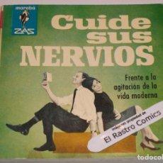 Livres d'occasion: MARABÚ ZAS Nº 100 CUIDE SUS NERVIOS FRENTE A LA AGITACIÓN DE LA VIDA MODERNA BRUGUERA 1964, ERCOM B5. Lote 145763674