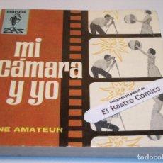 Livres d'occasion: MARABÚ ZAS Nº 118, MI CÁMARA Y YO, BRUGUERA, 1965, ERCOM B5. Lote 145767042