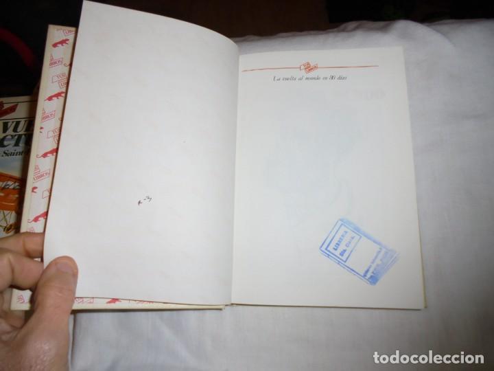 Libros de segunda mano: LA VUELTA AL MUNDO EN 80 DIAS.TUS LIBROS ANAYA.4ª EDICION 1987 - Foto 3 - 145843086