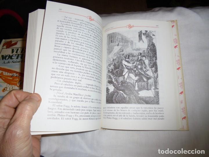 Libros de segunda mano: LA VUELTA AL MUNDO EN 80 DIAS.TUS LIBROS ANAYA.4ª EDICION 1987 - Foto 5 - 145843086