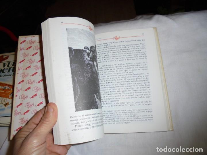 Libros de segunda mano: LA VUELTA AL MUNDO EN 80 DIAS.TUS LIBROS ANAYA.4ª EDICION 1987 - Foto 6 - 145843086