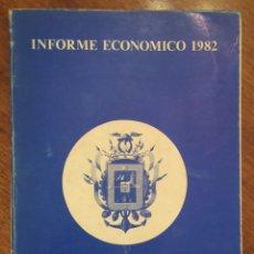 Libros de segunda mano: INFORME ECONÓMICO CAMARA OFICIAL DE COMERCIO, INDUSTRIA Y NAVEGACIÓN DE SANTANDER AÑO 1982. Lote 145852412