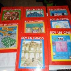 Libros de segunda mano: PRIMERA BIBLIOTECA ALTEA SERIE ROJA,8 TOMO.SOY UN CINE-UN HOTEL-UNA ESTACION EDICIONES ALTEA. Lote 145856982