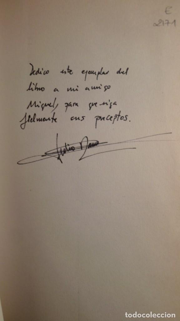 Libros de segunda mano: EL LIBRO DEL VAGO [DEDICATORIA DEL AUTOR] - ROMERO SAN JOSÉ, JULIO GUASA - Foto 2 - 145061068