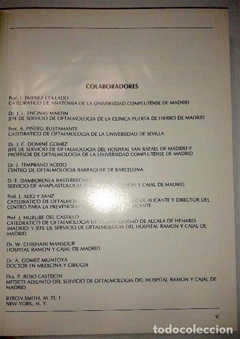 Libros de segunda mano: Prótesis oculares y cirugía reconstructiva de cavidades - Laiseca, Andrés; Laiseca, Juan; Laiseca, - Foto 4 - 122500615