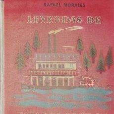 Libros de segunda mano: MORALES, RAFAEL: LEYENDAS DE ESTADOS UNIDOS Y CANADA. ILUSTR. DE RAFAEL MUNOA.. Lote 146029198