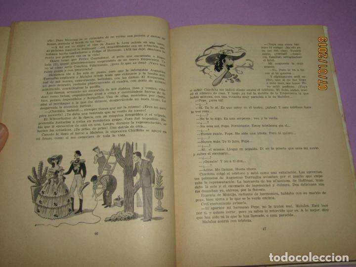 Libros de segunda mano: ANTOÑITA LA FANTÁSTICA en SE PONE DE LARGO por Borita Casas 2ª Edición del Año 1952 - Foto 5 - 146032406