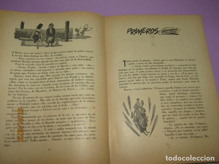 Libros de segunda mano: ANTOÑITA LA FANTÁSTICA y TITERRIS por Borita Casas 2ª Edición del Año 1951 - Foto 2 - 146032698