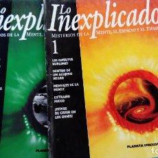Libros de segunda mano: LO INEXPLICADO 1 Y 2 . Lote 146038030