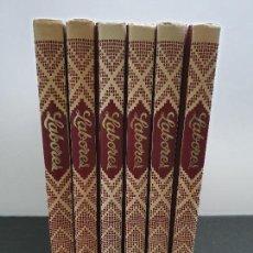 Libros de segunda mano: ENCICLOPEDIA SALVAT DE LABORES 6 TOMOS CON PATRONES. TOMOS 1, 2, 4, 5, 7 Y 8. 1979 (ENVÍOS 5,43€). Lote 146046846