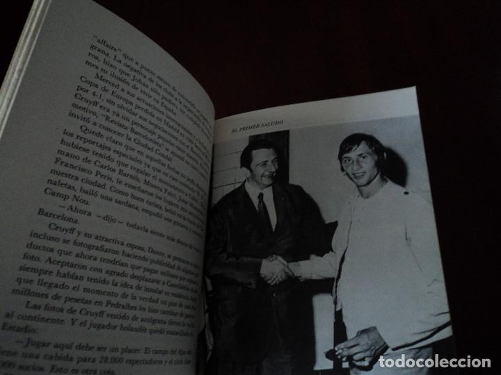 Libros de segunda mano: CRUYFF UNA VIDA POR EL BARCA - Foto 4 - 146194630