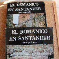 Libros de segunda mano: EL ROMÁNICO EN SANTANDER. GARCÍA GUINEA (MIGUEL ÁNGEL) DICIONES DE LIBRERÍA ESTUDIO, 1979. Lote 146210214