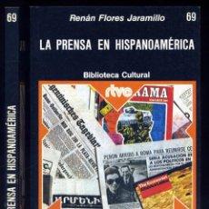 Libros de segunda mano: FLORES JARAMILLO, RENÁN. LA PRENSA EN HISPANOAMÉRICA. 1976.. Lote 146219042