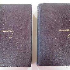 Libros de segunda mano: AGUILAR- COLECC. OBRAS ETERNAS - Nº34-35 - NOVELAS COMPLETAS (2TOMOS) - ANATOLE FRANCE. Lote 146220158